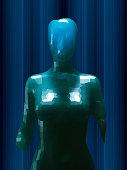 istock Crudely shaped humanoid figure 521384702