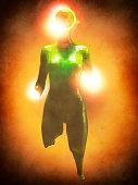 istock Crudely shaped humanoid figure 521386134