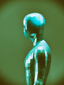 istock Crudely shaped humanoid figure 521986630