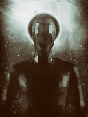 istock Crudely shaped humanoid figure 521987916