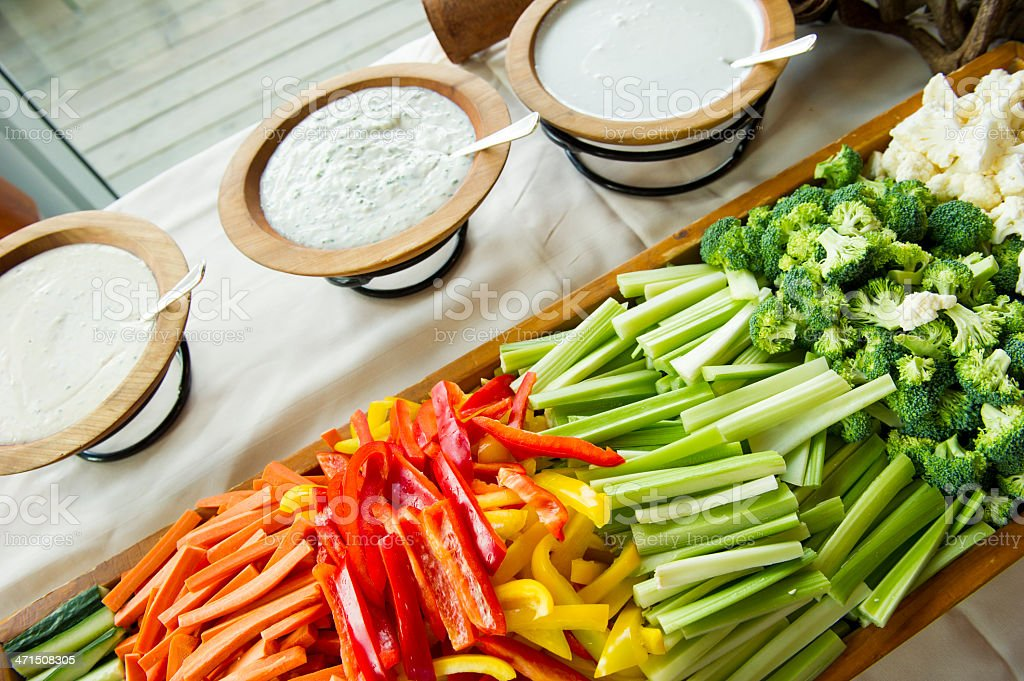 Crudite royalty-free stock photo