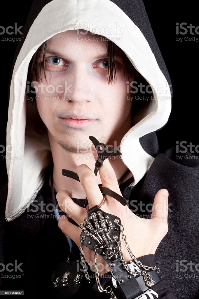 Cruel Looking royalty-free stock photo