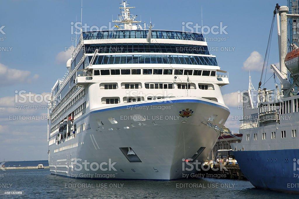 Cruise liner Nautica stock photo