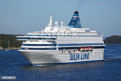 Stockholm, Sweden - July 7, 2010: Cruise liner