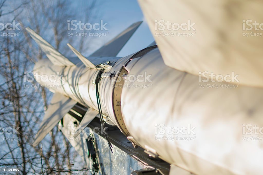 Cruise missile stock photo