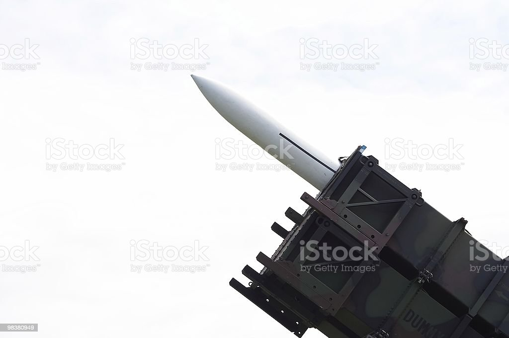 Cruise missile royalty-free stock photo