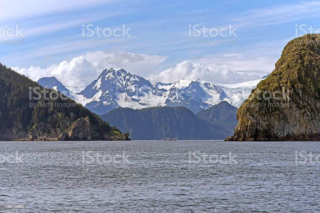 Cruise near Seward, Alaska royalty-free stock photo