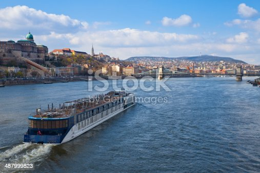 A romantic river boat cruise along the Danube in Budapest