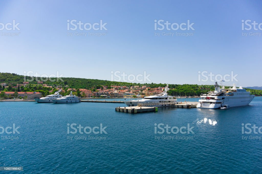 Cruise Port Of Argostoli In Kefalonia Ionian Island In
