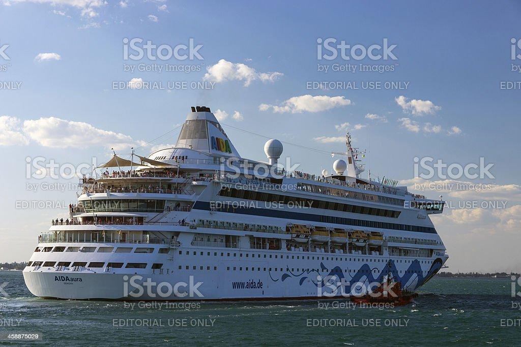 Cruise ship Aida royalty-free stock photo