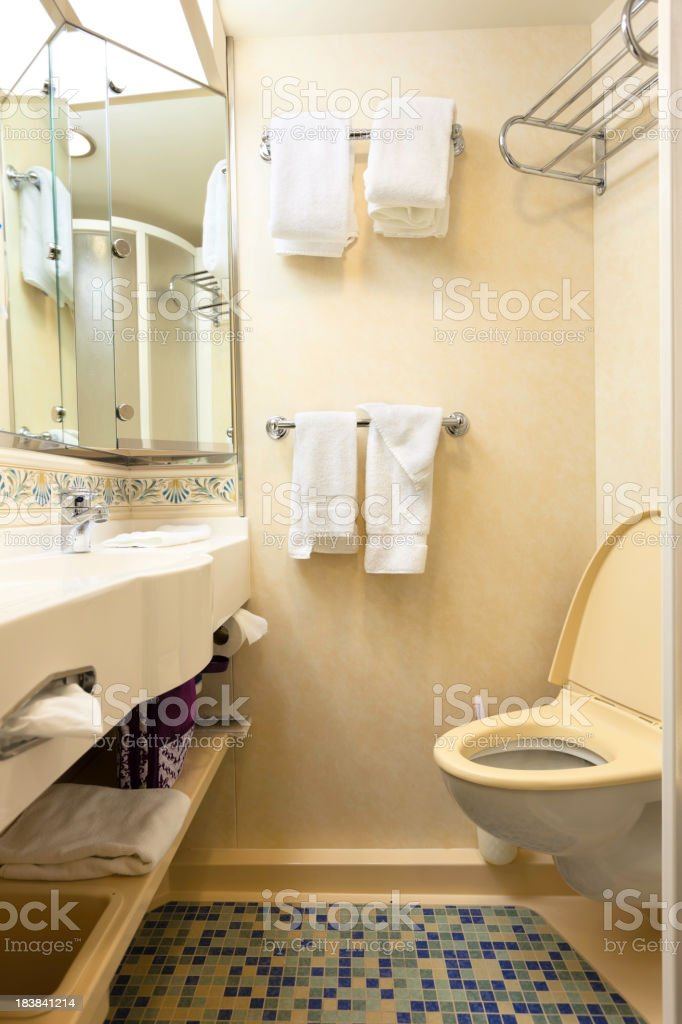 Cruise Ship Cabin Compact Bathroom Stock Photo More Pictures Of