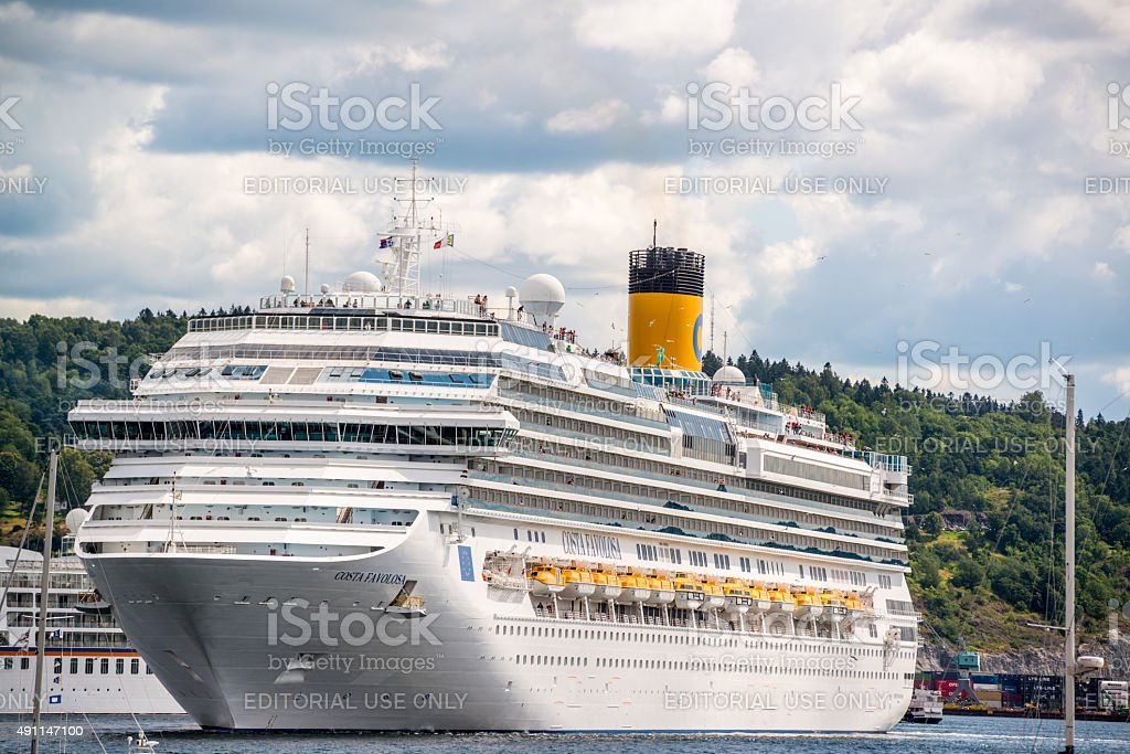 Cruise Ship Costa Favolosa In Oslo Norway Stock Photo More - Cruise ship norway