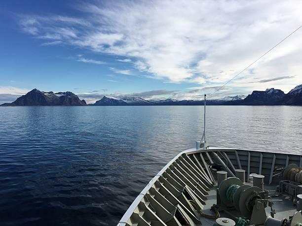 Kreuzfahrtschiff in Nördlichen Norwegen. – Foto