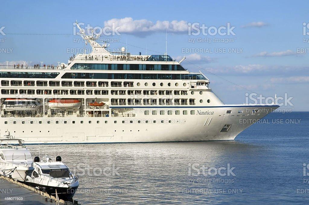 Cruise ship Nautica stock photo