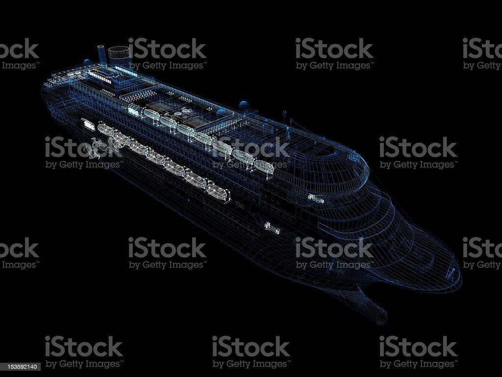 Cruise Ship stock photo