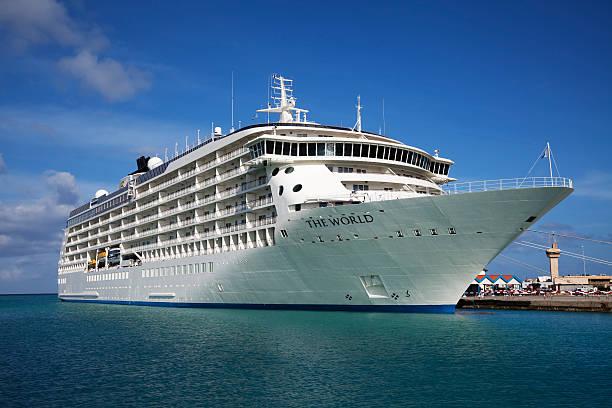Kreuzfahrt Schiff der Welt, Oranjestad, Aruba – Foto