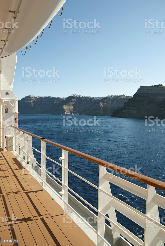 Cruise Ship, Travel , Vacations royalty-free stock photo
