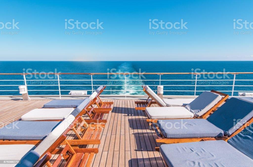Cruise Ship Vacation Travel stock photo