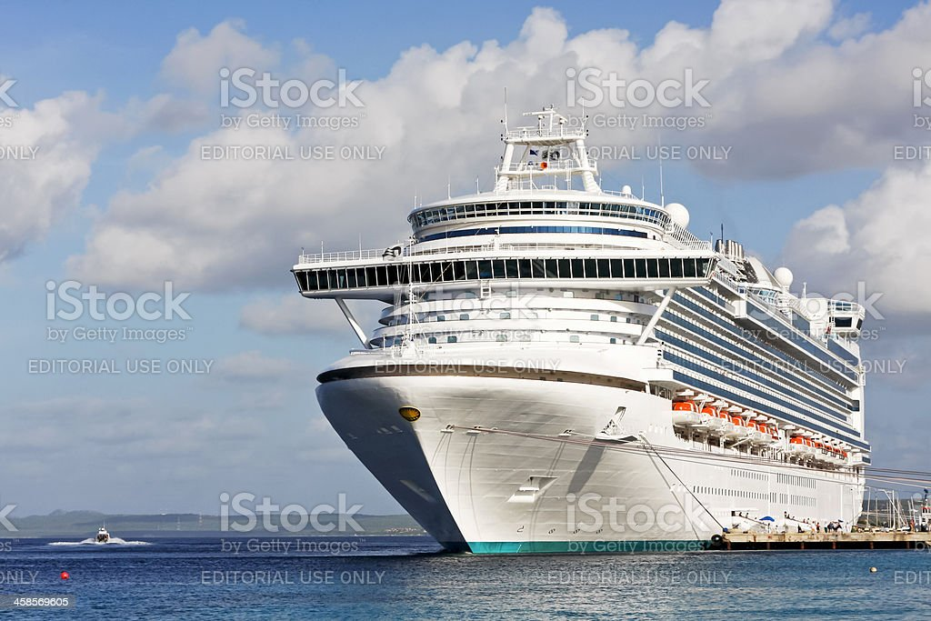 Cruise ship # 7 XL royalty-free stock photo