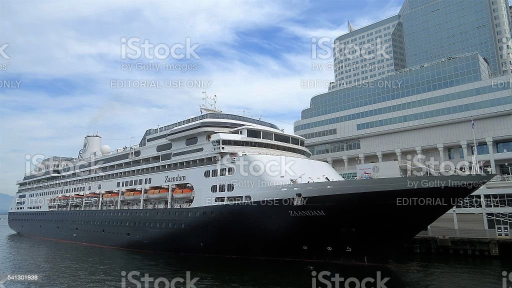 Cruise Ship - Zaandam stock photo