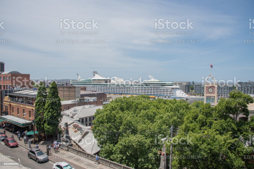 Cruise Terminal in Sydney stock photo