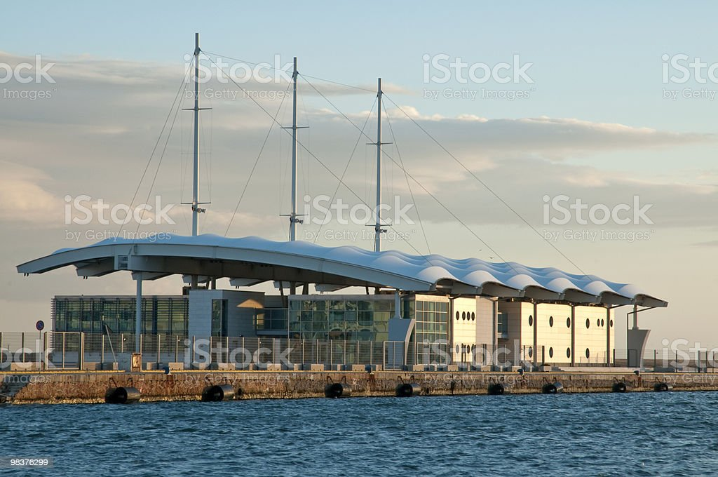 terminal Crociere foto stock royalty-free