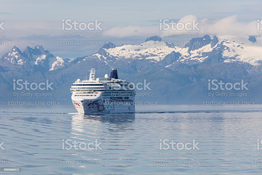 Cruise Through the Inner Passage stock photo