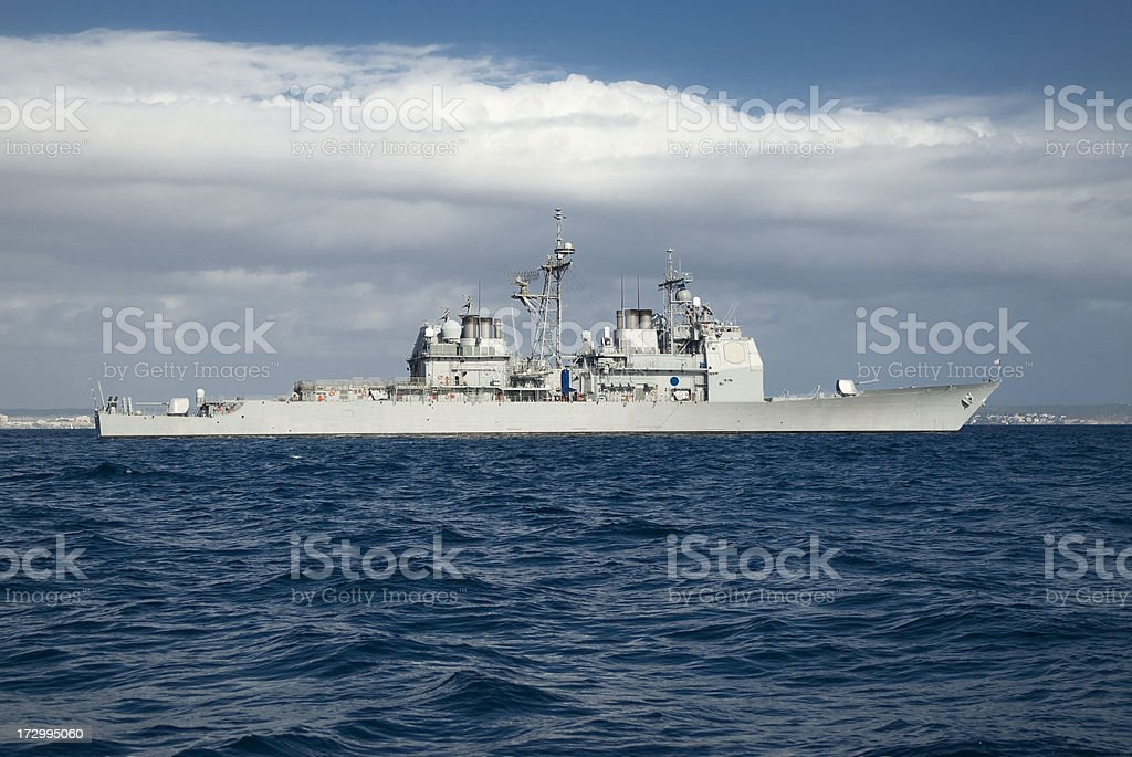 Cruiser royalty-free stock photo