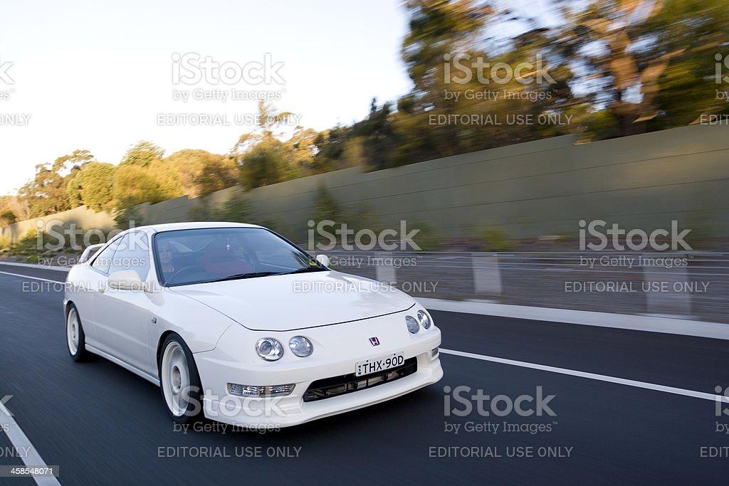 Cruising down the highway