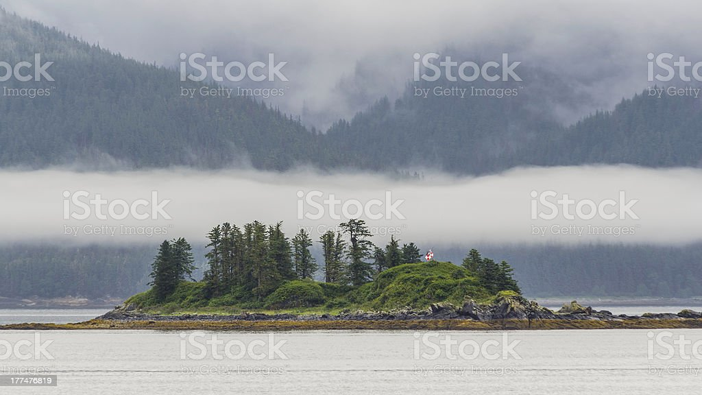 Cruising Queen Charlotte  Islands, Canada # 2 stock photo