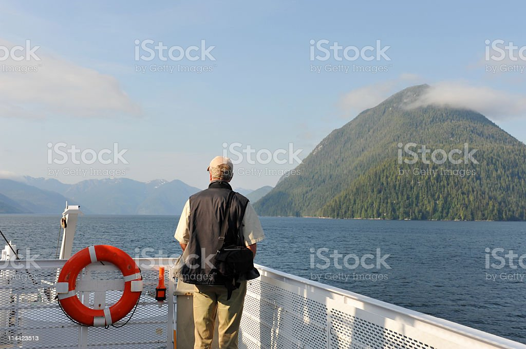 Cruising the Discovery Coast stock photo
