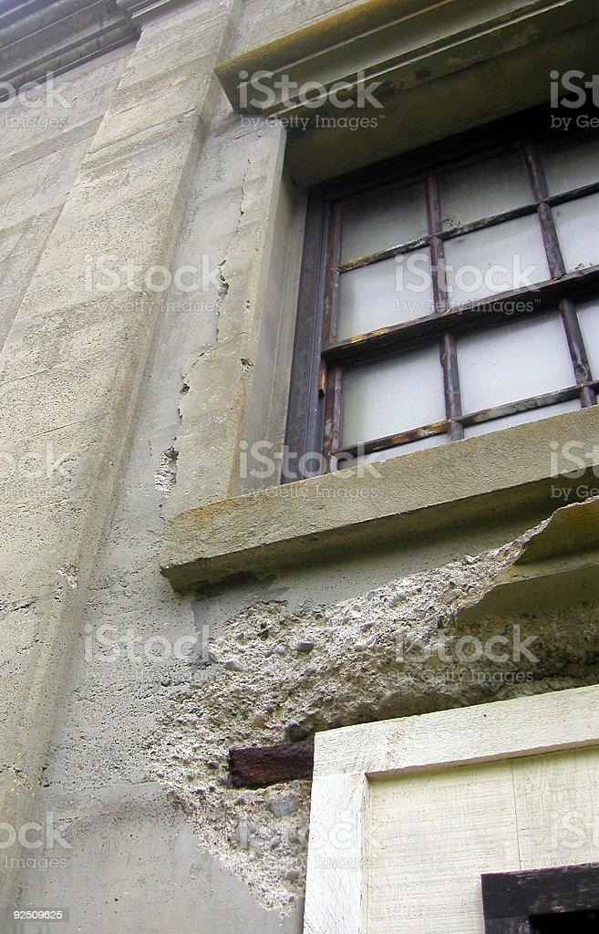 Crumbling Concrete royalty-free stock photo