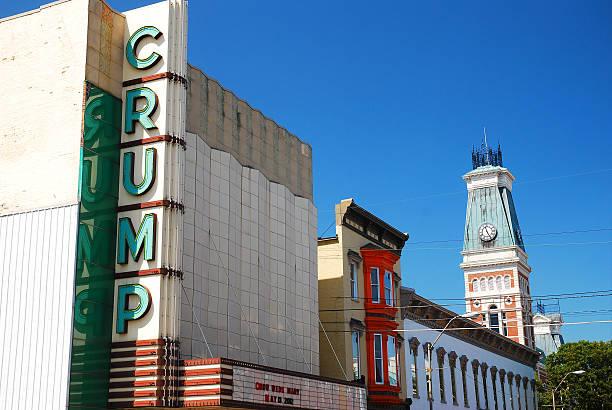 crump theatre, columbus - columbus day stok fotoğraflar ve resimler