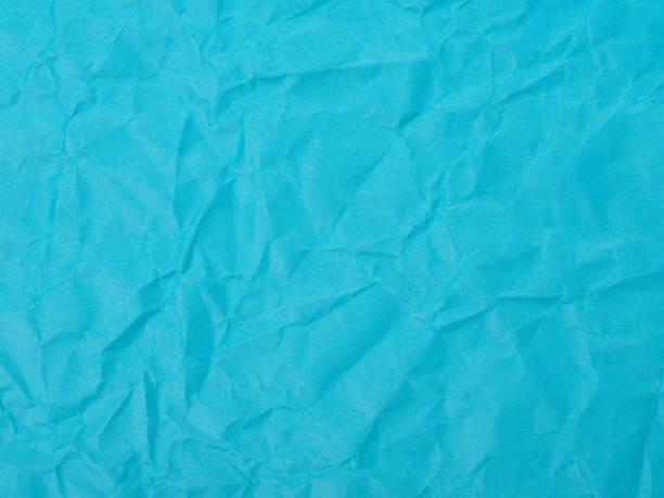 Crumpled blue Construction Paper Background – zdjęcie