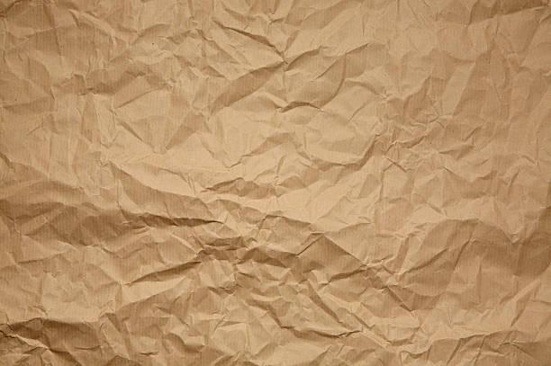 Froissé Papier kraft - Photo