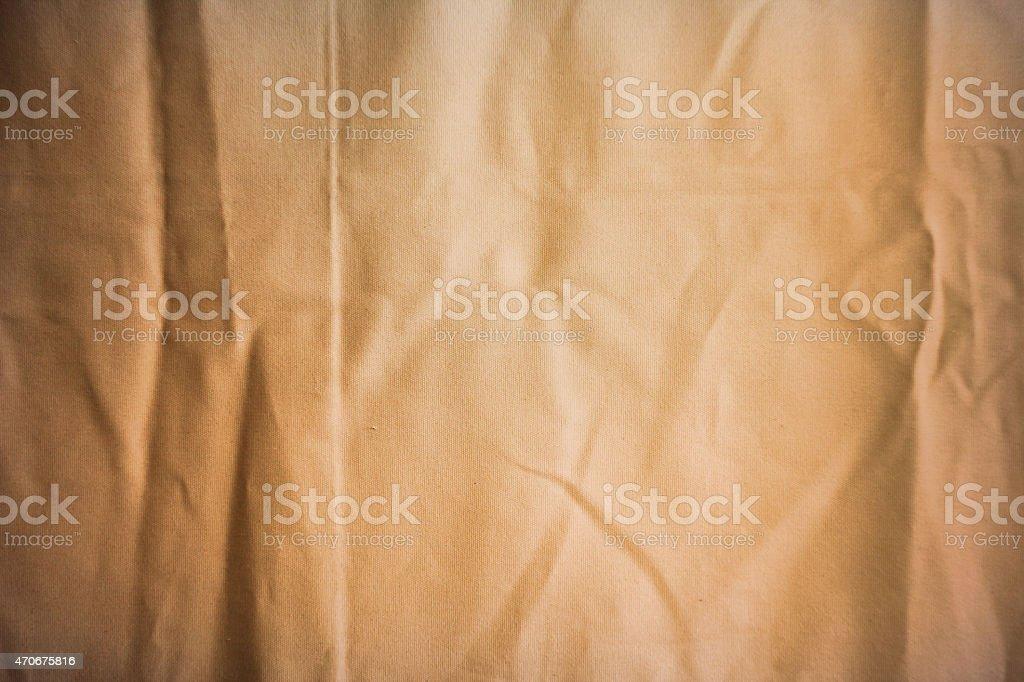 crumpled canvas stock photo