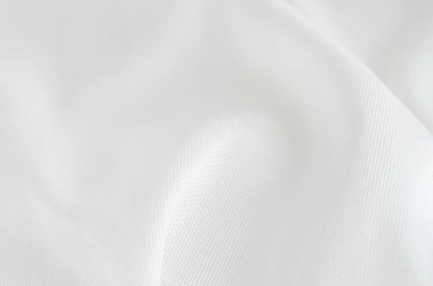 Crumpled fabric textile background stock photo