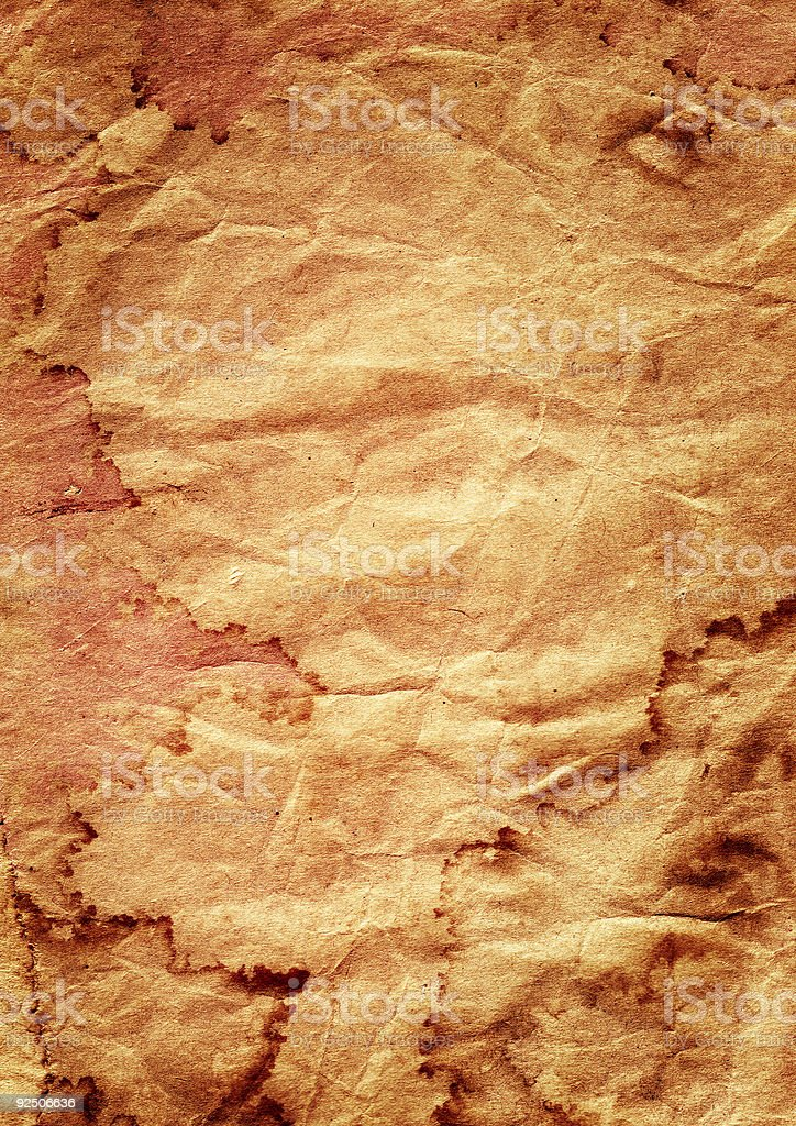 Crumpled Grunge royalty-free stock photo