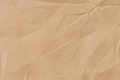 istock Crumpled Kraft paper 1083201994