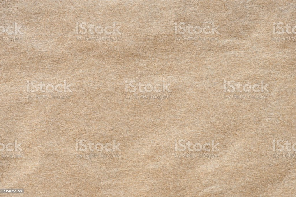 Crumpled kraft paper - Royalty-free Abstract Stock Photo