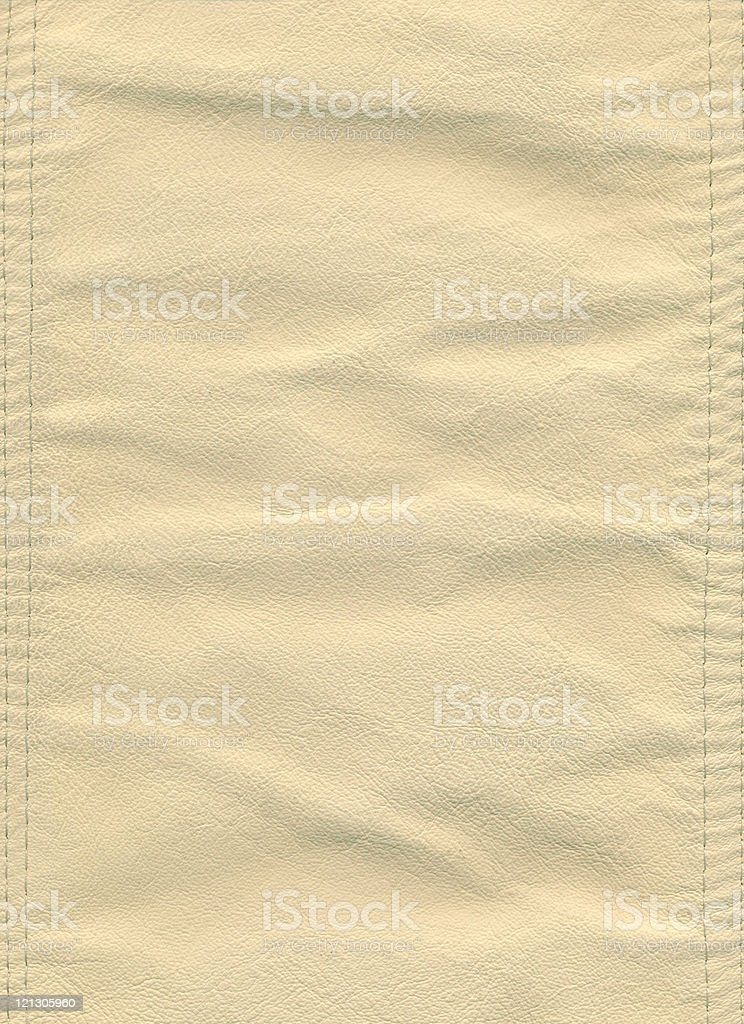 crumpled leather royalty-free stock photo