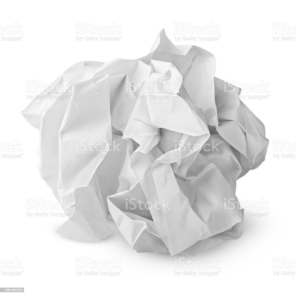 Boulette en papier - Photo