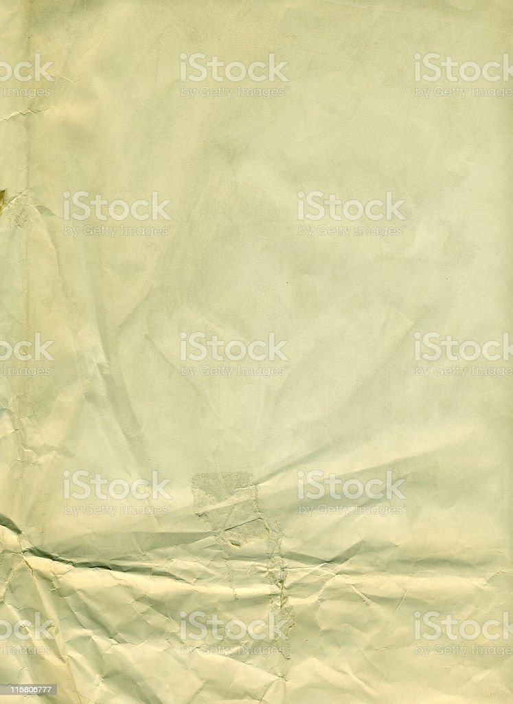 crumpled paper royalty-free stock photo