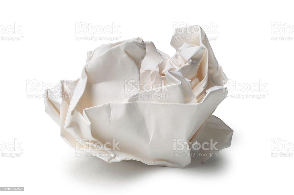 Papier froissé - Photo