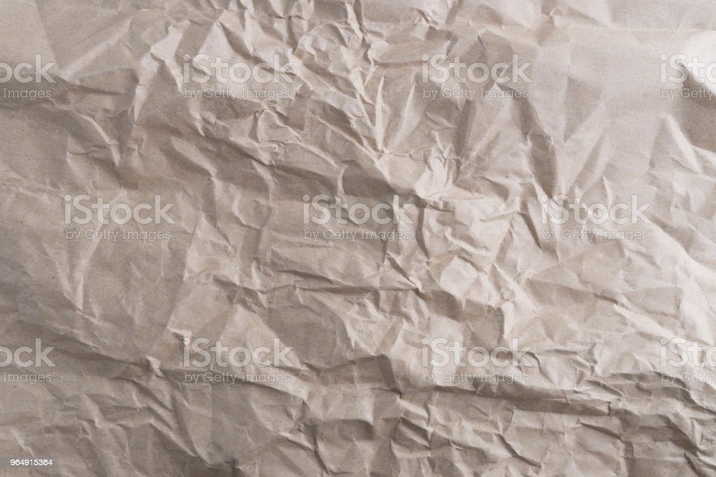 crumpled paper texture recycled paper background - Royalty-free Abstract Stock Photo