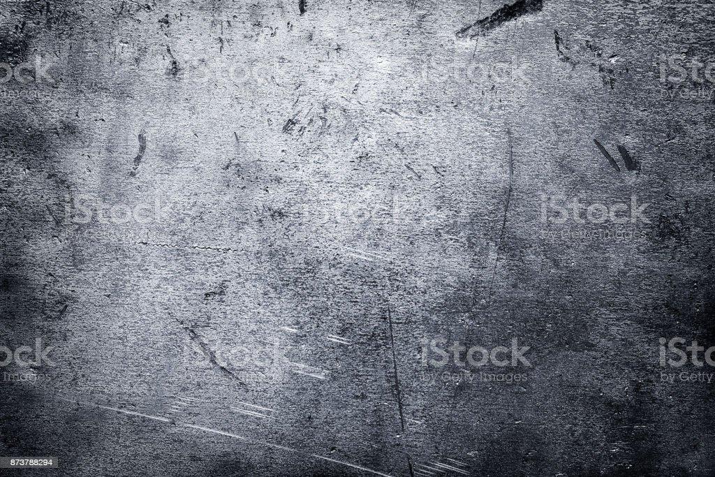 Arrugado pedazo de fondo de hierro, cepillado textura de metal - foto de stock