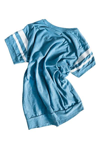 Crumpled shirt isolated stock photo