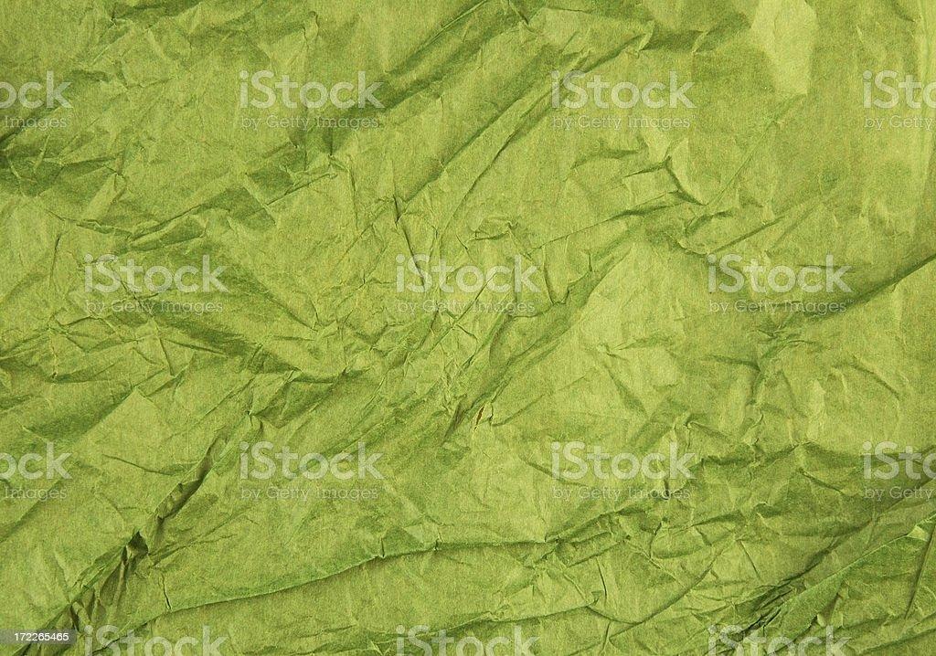 Crumpled tissue paper stock photo