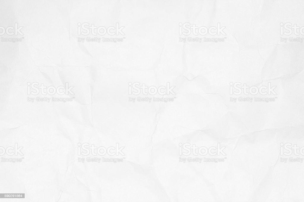 Crumpled white paper texture or paper background. royaltyfri bildbanksbilder