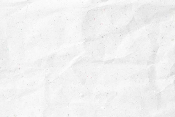 crumpled white paper texture stock photo